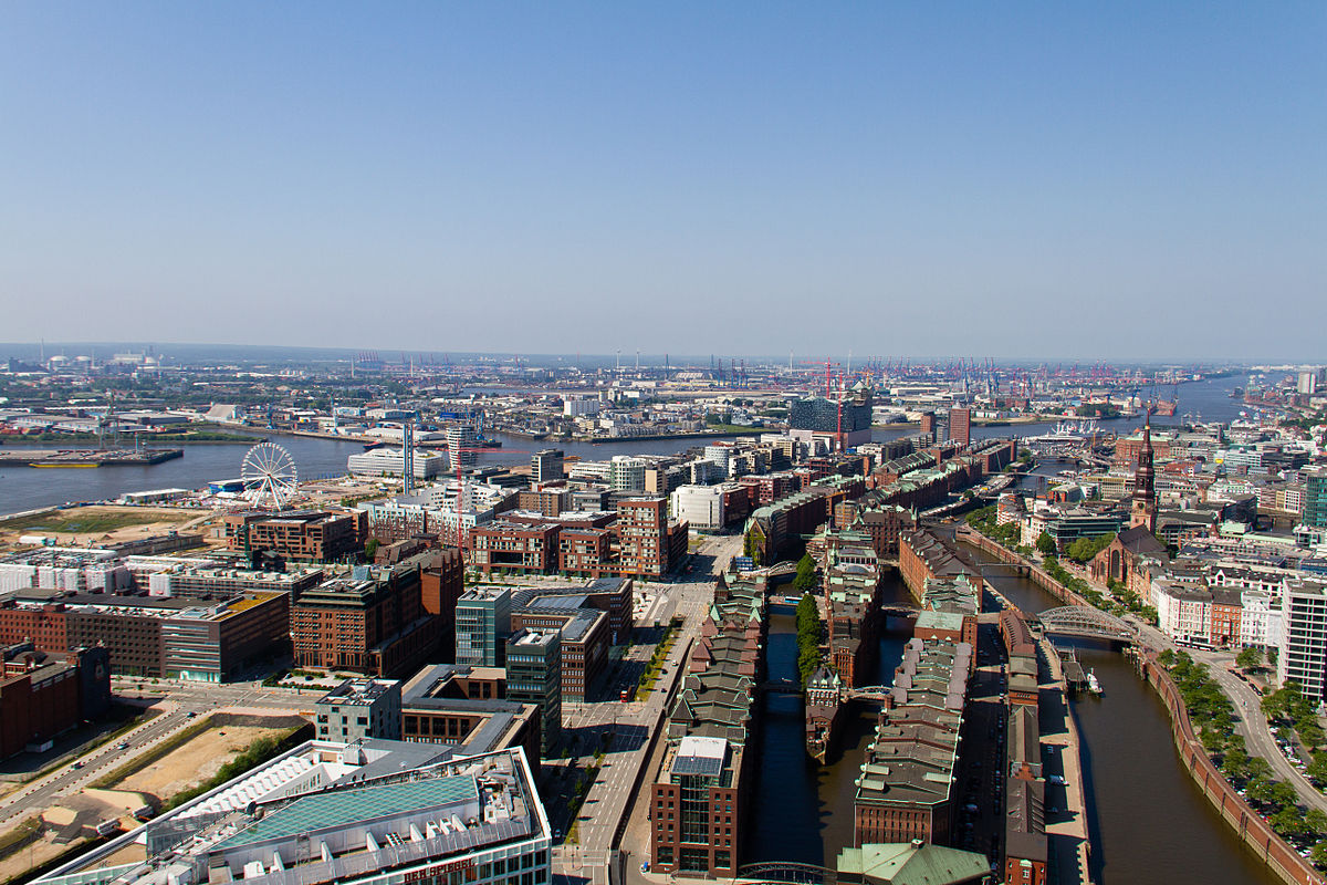 Luftbild Hafencity