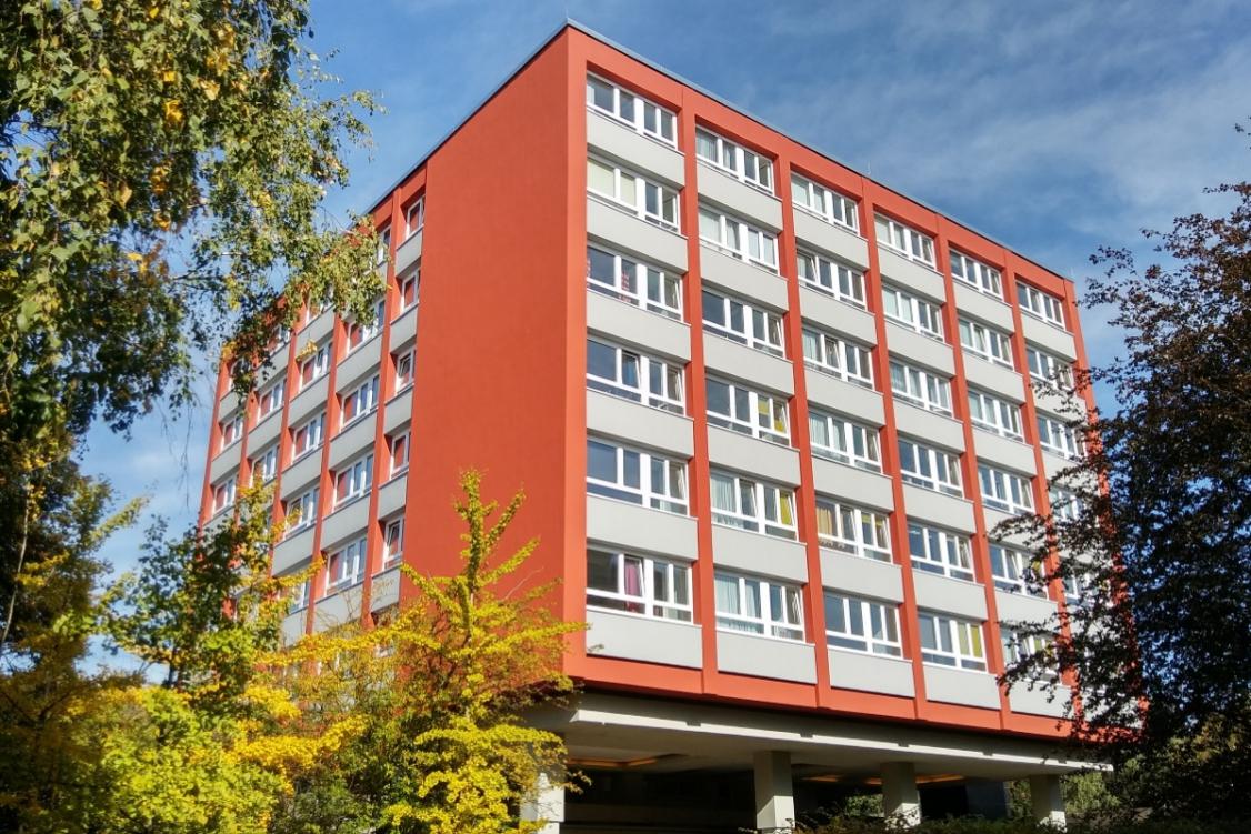 Neue Fassade der Diesterweg-Stiftung