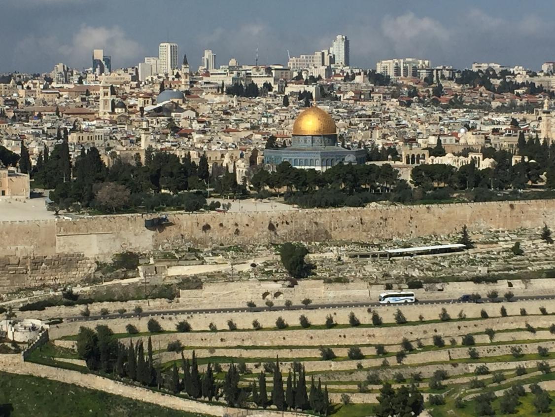 Blick auf die Altstadt von Israel