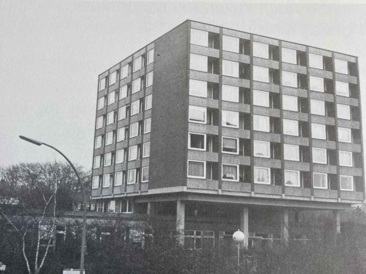 Alte Fassade der Diesterweg-Stiftung
