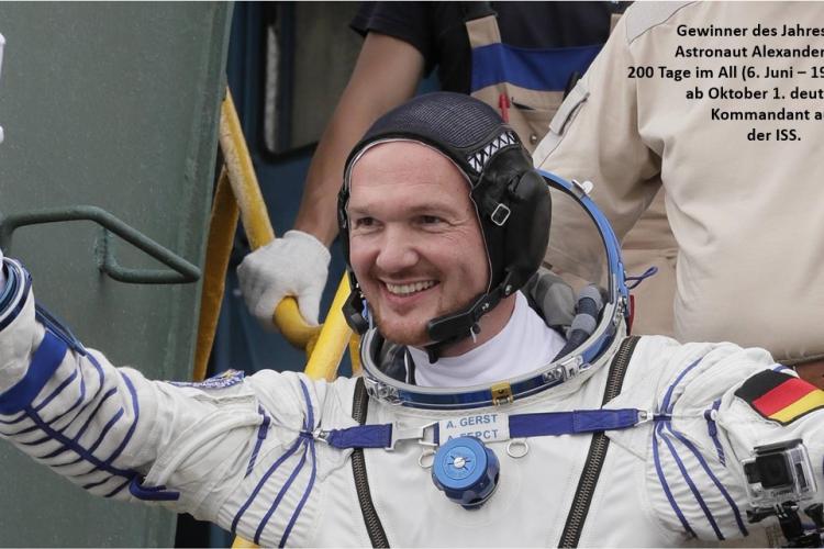 Der Astronaut Alexander Gerst