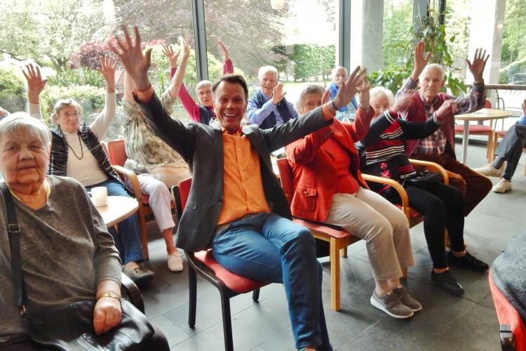 Ulf Ansorge zu Gast in der Diesterweg-Stiftung